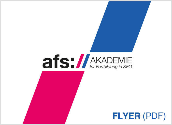 afs-Akademie Flyer Download